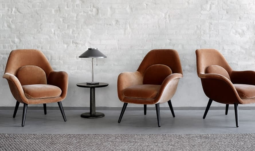 Poltrona Swoon by Fredericia