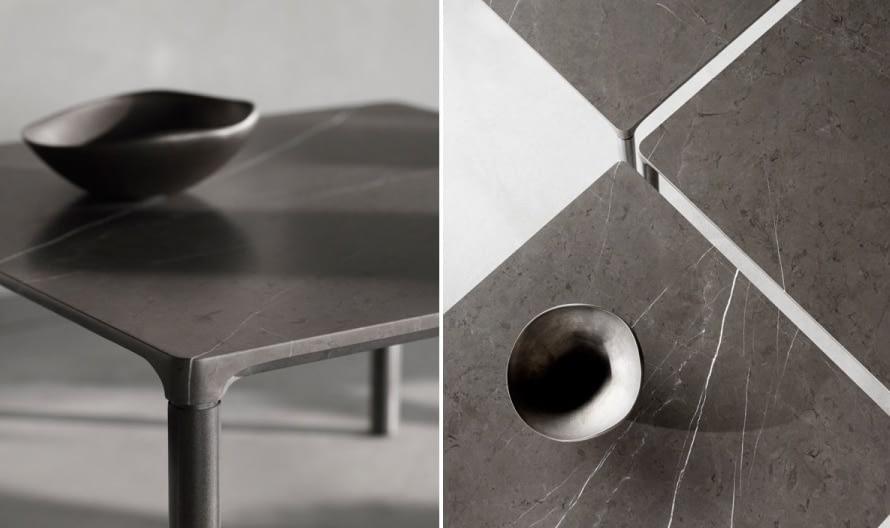 Piloti stone table